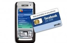 Facebook Soon Coming Integrated Into Sim Cards