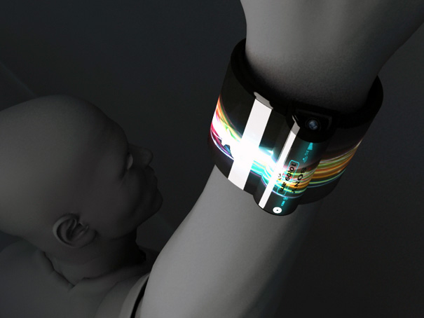Sony Computers which can be worn On Wrist