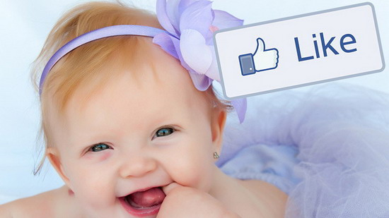 Baby named 'Like'