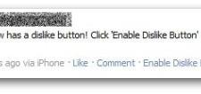 Facebook Dislike button is Fake : Facebook spam alert