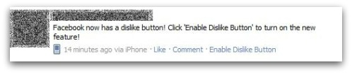 Facebook Dislike button is Fake : Facebook spam alert