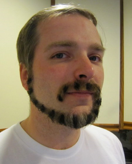 the monkeytail beard