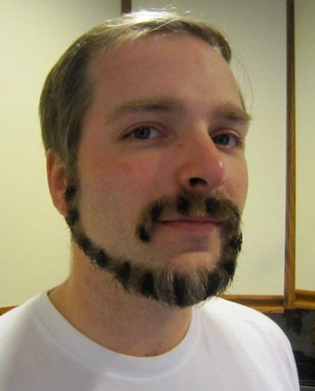 the monkeytail beard