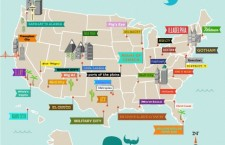 US city names according to Twitter [Infographic]