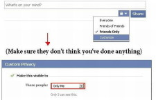 Facebook tips for good friends [must try] ;)