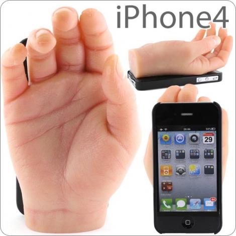 wierd_hand iphone case