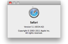 Apple Safari 5.1 Browser – Smarter, more powerful.