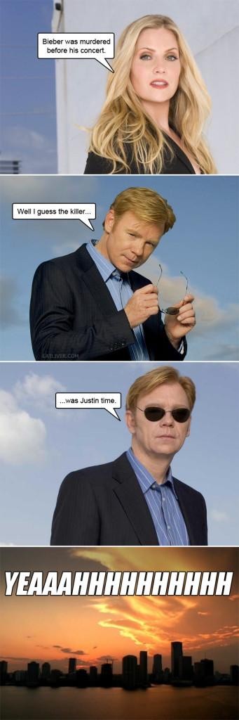 Justin Bieber Meme Joke