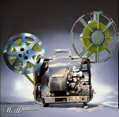 Celluloid Film Projector