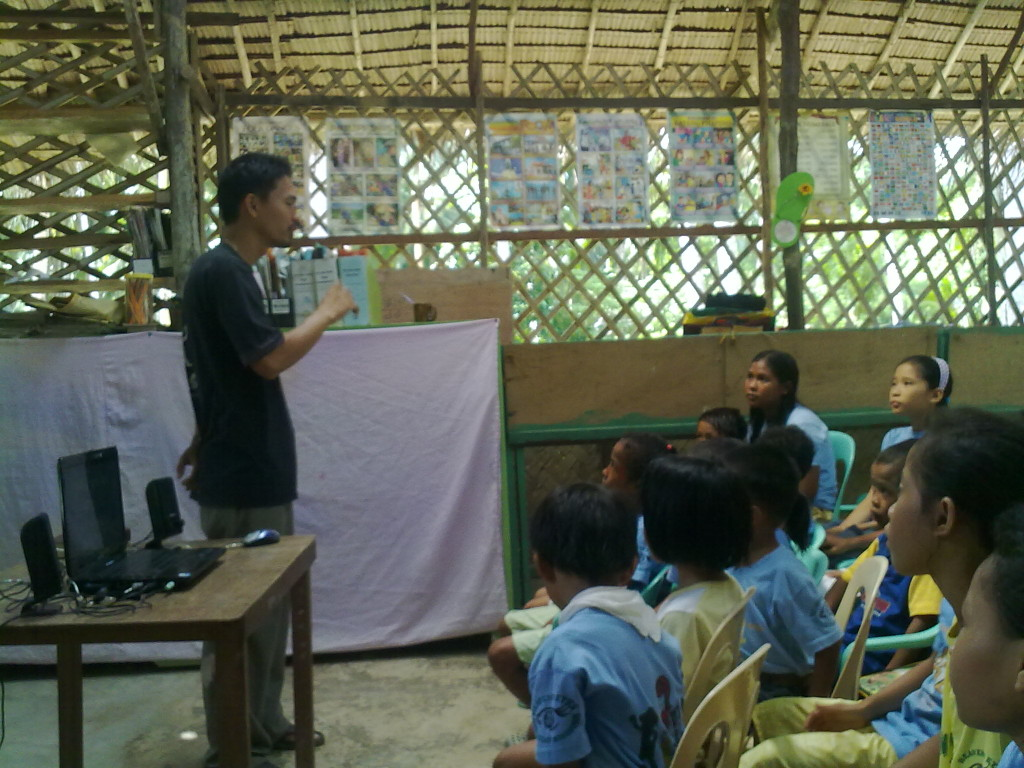 Teaching Batak kids how to find their mission in life
