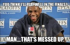 NBA Finals Miami Heat Vs. Oklahoma City Thunder; Funny Memes and Pictures Collection