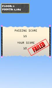 failed..