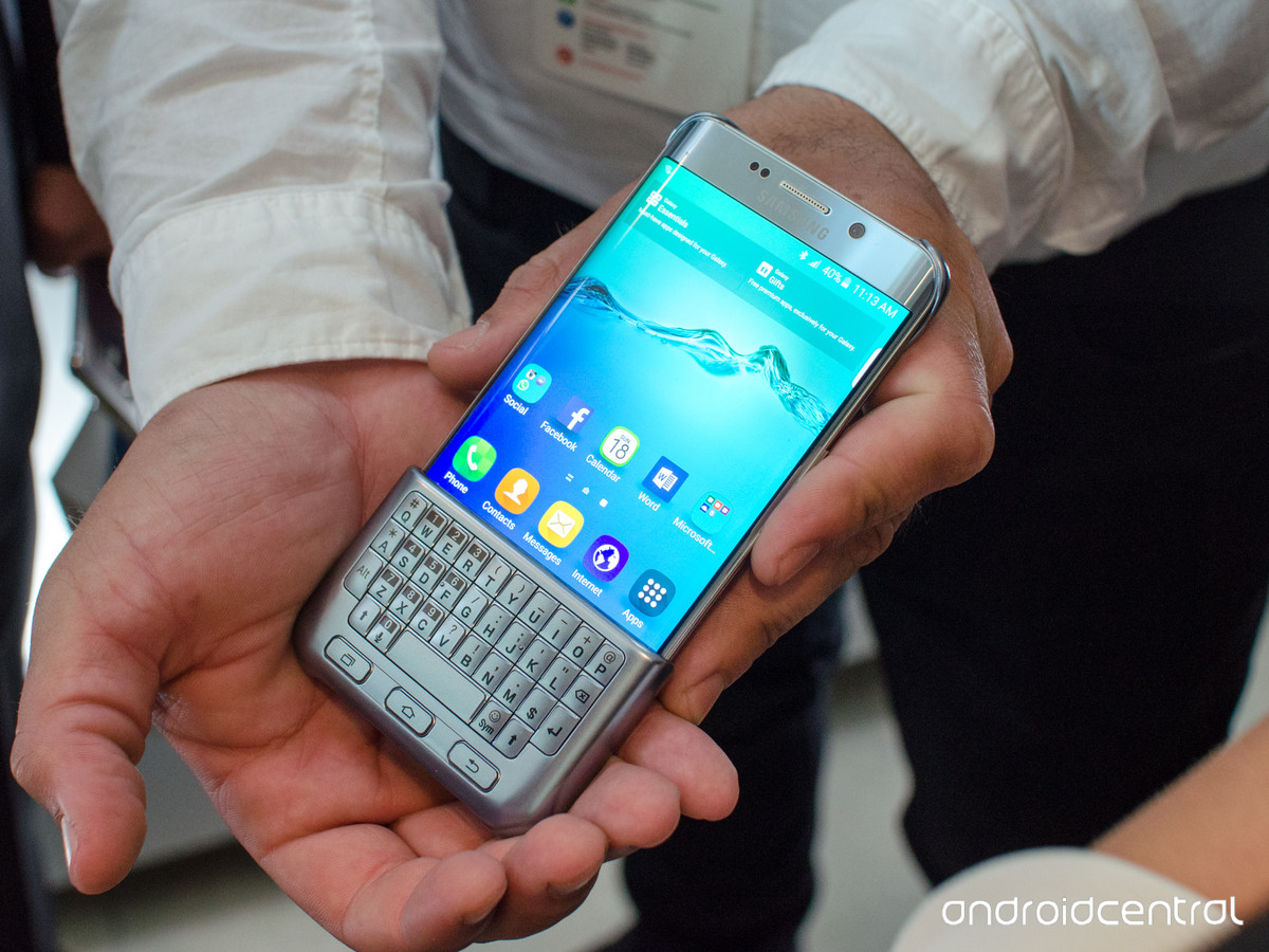 The Hardware Keyboard is Back in Samsung