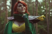 Watch this Hot Chick as DOTA's Wind Ranger in Cosplay