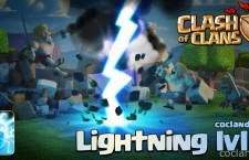 Clash of Clans September Update: Level 7 Lightning Spell