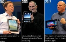 History of the Tablet Race: The Feud of Apple and Microsoft