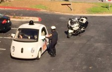 Traffic Officer Stopped Google Car Because it is Too Slow