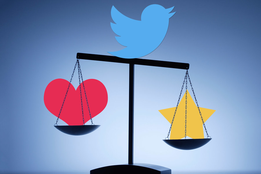 Twitter Replaces Stars with Hearts – Favorites to Likes
