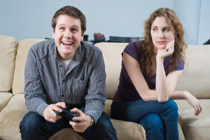 unhappy-girlfriend-boyfriend-video-game