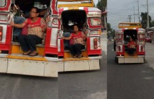 Elderly Woman Occupied Worst Seat on The Jeepney Gone Viral