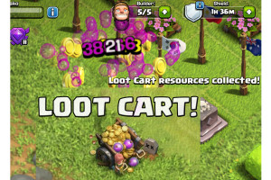 loot cart collect