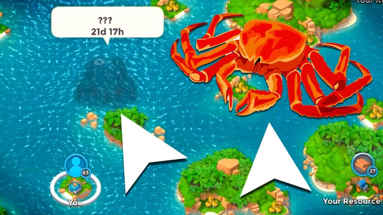 Boom Beach Latest Update: The Mega Crab