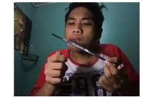 Drug Addict Posted Selfie Video Online while Sniffing Shabu