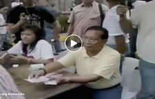 Binay Caught on Camera Buying Votes from Poor People