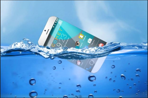 Comet: The First Smartphone that Floats on Water