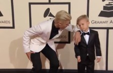 Justin Bieber's Little Brother, Jaxon, Slayed Grammy's Red Carpet