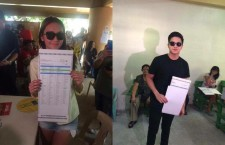 KathNiel Bashed Online for Taking Photos of Official Ballots