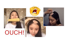 Asian Girl Loses Hair while Attempting to make a Viral Vid