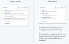 Facebook Revamps Trending Feature