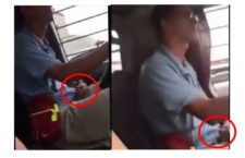 Jeepney Driver Caught on Camera Masturbating on the Road