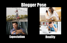 Blogger Pose and How it Misunderstands Bloggers