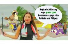 "Korina Sanchez: ""Pidgey and Rattata are Grass-Type Pokémons"""