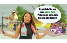 "Korina Sanchez: ""Pidgey and Rattata are Grass-Type Pokémons"""