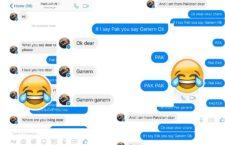 Pinay Netizen teaches PAK GANERN to her Pakistani Lover