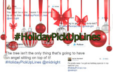 #HolidayPickUpLines trends in Twitter – Naughty Xmas