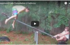 Funny Video of Playground Fail Compilation
