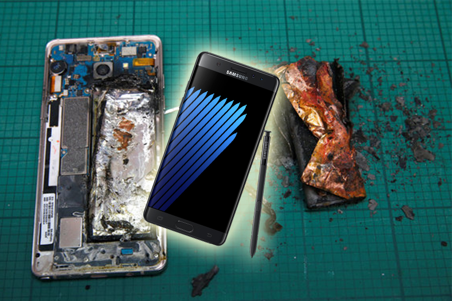 Samsung Galaxy Note 7 should not be charged beyond 30%