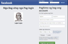 How to Change Facebook Language to Bisaya
