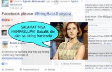 Petition to bring Senyora Santibañez back Online #BringBackSenyora