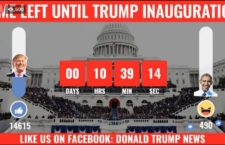 Donald Trump's Inauguration Countdown goes Live in Facebook