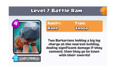 Battle Ram Card: Clash Royale Review