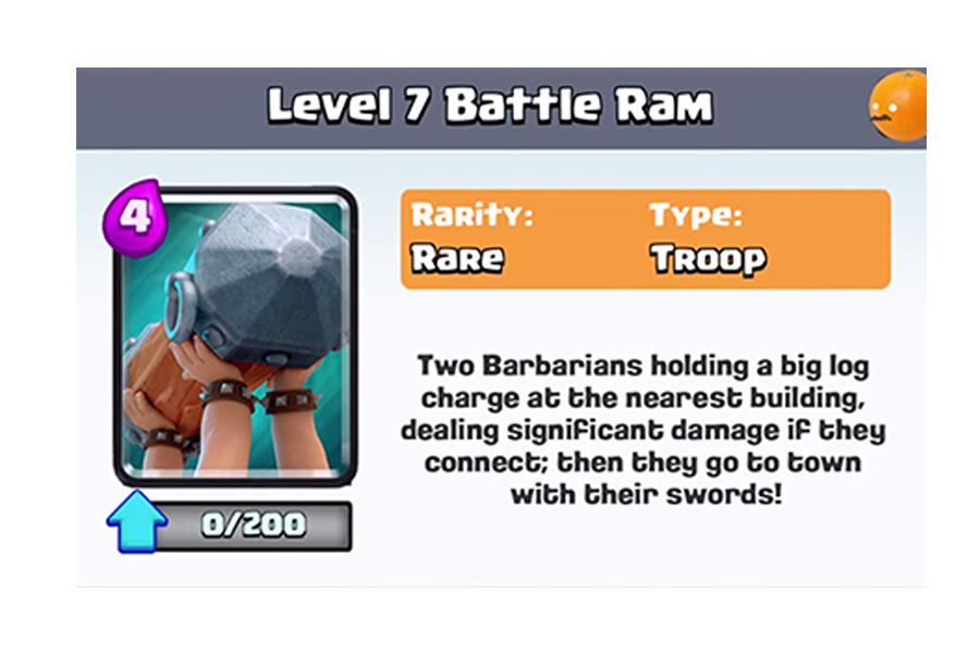 Battle Ram Card: Clash Royale Review