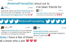 Twitter Celebrates Internet Friends Day #InternetFriendsDay