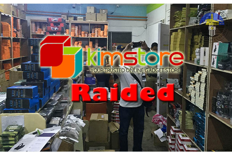 Online Shop Kimstore Raided because of Smuggling