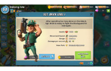 Boom Beach's Sergeant Brick First Impressions