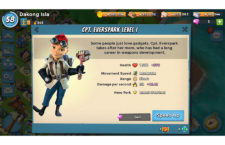 Boom Beach's Captain Everspark First Impressions